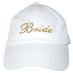 Embroidered Bride Baseball Cap