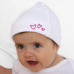 Baby's Personalized Somebody Loves Me Hat