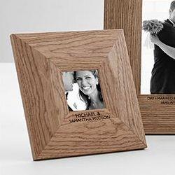 Classic Wood Wedding Frame