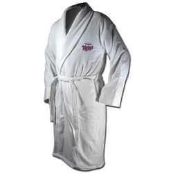 Minnesota Twins Logo Terrycloth Bathrobe