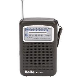 Super-Slim Pocket Weather Radio