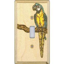 Blue and Gold Macaw Switchplate
