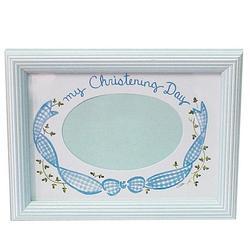 Baby Christening Frame