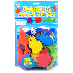 Floating Ocean Animals with Mesh Bag