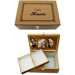 Personalized Keepsake Memory Box