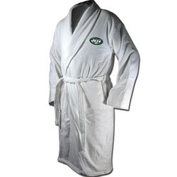New York Jets Terrycloth Logo Bathrobe