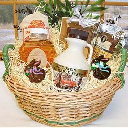 Maple and Honey Easter Gift Basket