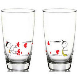 You're Irresistible Drinking Glasses