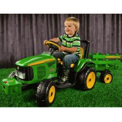 John Deere Battery-Powered Farm Power Tractor Ride On