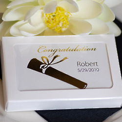 Customized Graduation Deck of Playing Cards Favors