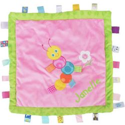 Personalized Taggies Caterpillar Cozy Blanket