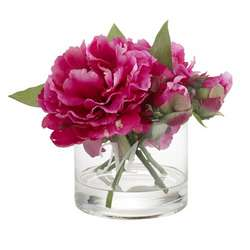Bright Pink Peony Floral Arrangement