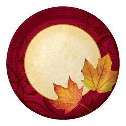 Autumn's Gift Luncheon Plates