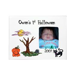 Personalized Halloween Baby Frame
