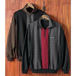 Men's Red Bar Pullover