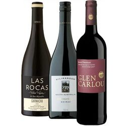 90+ Point Red Wine Gift Trio