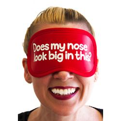 Does My Nose Look Big Sleep Mask