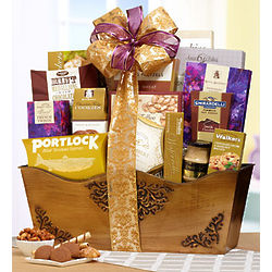 Grand Luxury Gourmet Treat Gift Basket