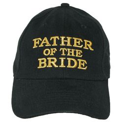 Embroidered Father of the Bride Baseball Cap