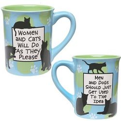 Women and Cats Do as They Please Mug