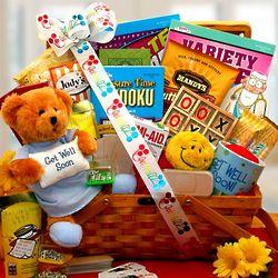 Get Well Soon My Dear Friend Gift Basket