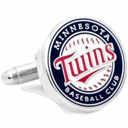 Minnesota Twins Enamel Cuff Links