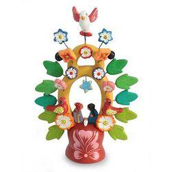 Sweet Nativity Christmas Ceramic Bird Sculpture