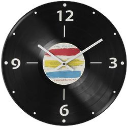 Custom Record Album Clock