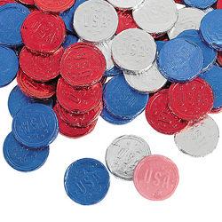 Patriotic Bubble Gum Coins