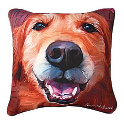 Dog Portrait Pillow