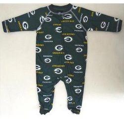 Green Bay Packers Child's Full Zip Sleeper