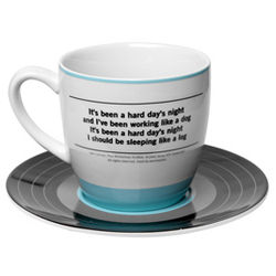 Beatles A Hard Day's Night Cup and Saucer