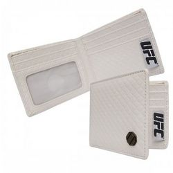 UFC White Braided Wallet