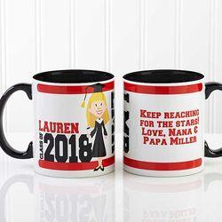 Graduation Characters Personalized Coffee Mug