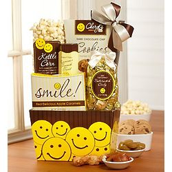 All Smiles Sweets and Treats Gift Basket