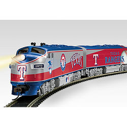 Texas Rangers Express Electric Train Set