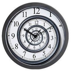 Spiral Wall Clock