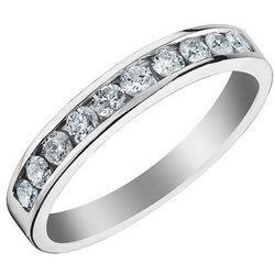 1/2 CTW Diamond Anniversary/ Wedding Band in 14K White Gold