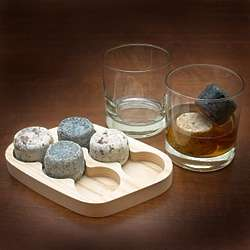 Round Whiskey Stones