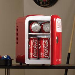 Coca-Cola 6-Can Personal Refrigerator