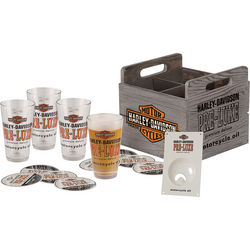 Harley-Davidson Pint Crate Set
