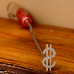 Dollar Sign Branding Iron