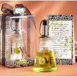 """Olive """"Love"""" Oil BottleFavor"""