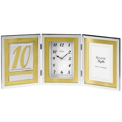 Medallion Picture Frame Clock