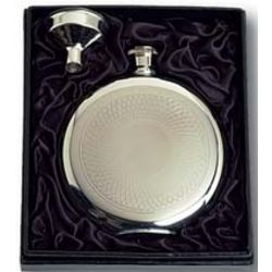 Stainless Steel Round Flask & Funnel Set