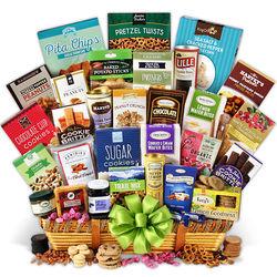 Jumbo Snack Gift Basket