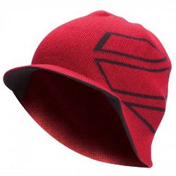 UFC Red and Black Performance Visor Beanie