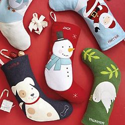 Personalzied Felt Character Holiday Stocking