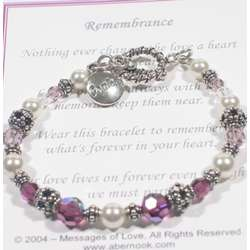 Messages of Love Remembrance Bracelet