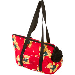 Teddy Bear Print Pet Carrier Fashion Bag
